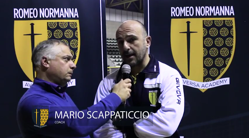 Romeo Normanna vs Centro Volley San Marco / highlights e interviste 8° giornata